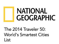 National Geographic 50 Smart City Ideas List
